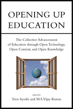 Open education book cover
